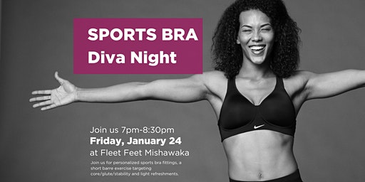 Sports Bra Diva Night
