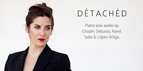 Détachéd: María Abad, piano (Sábado 1 febrero 2020 a las 20:30h) entradas