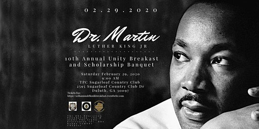 10th Annual Dr. Martin Luther King Jr. Unity Breakfast & Scholarship Banquet
