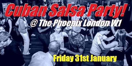 Salsa Caribe's Cuban Salsa Party tickets
