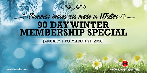 Last Chance: 90 Day Winter Membership (Chicagoland Fat Loss CHICAGO)