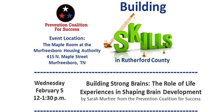 PC4S Building Skills in Rutherford Co. - Building Strong Brains Training tickets