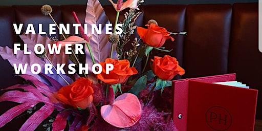 Valentines Flower Workshop - Table Centre