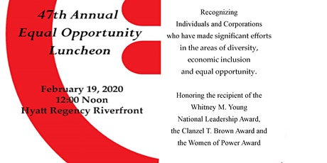 47th Annual Equal Opportunity Luncheon tickets