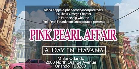 Alpha Kappa Alpha Sorority, Incorporated presents Annual Pink Pearl Affair tickets