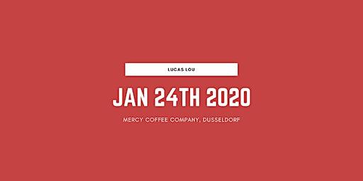 Lucas Lou live @ MERCY coffee company