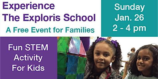 Experience The Exploris School Family Event