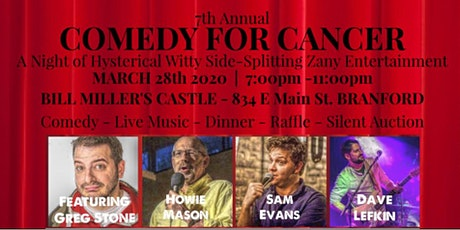 COMEDY FOR CANCER - Hysterical Wild Witty SideSplitting Pure Entertainment! tickets