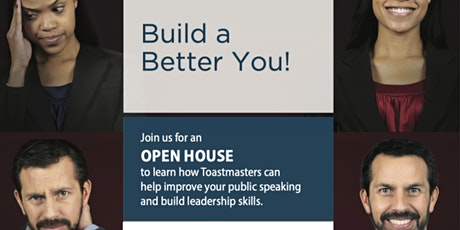 Build a  Better You! Open House - Bukit Gelugor Toastmasters Club tickets