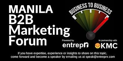 B2B+Marketing+Forum+%28Manila%29