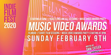 Indie Film Fest 2020 Music Video Awards Night tickets