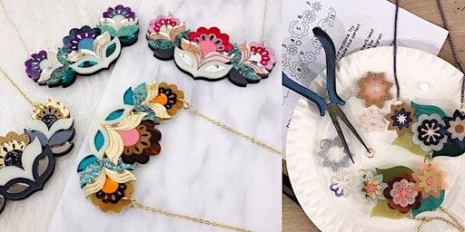 Acrylic Necklace Making Workshop