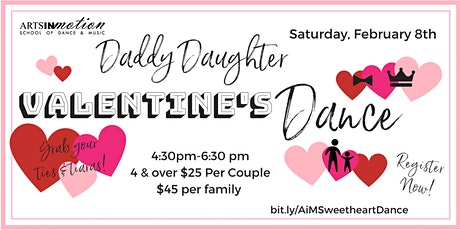Daddy Daughter Valentine's Dance tickets