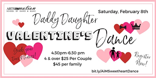 Daddy Daughter Valentine's Dance