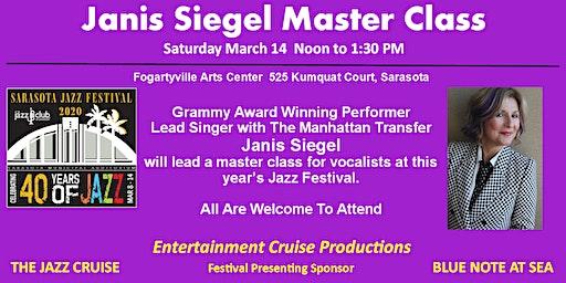 Janis Siegel Master Class