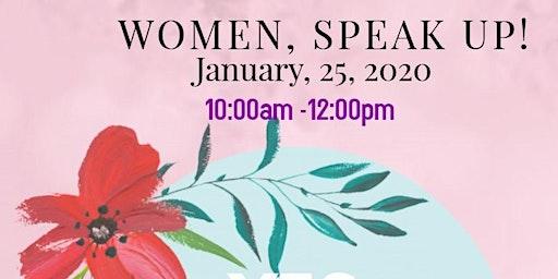Women, Speak Up Workshop
