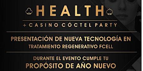 HEALTH+CASINO CÓCTEL PARTY boletos