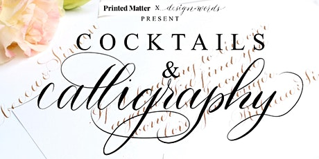 Cocktails & Calligraphy tickets