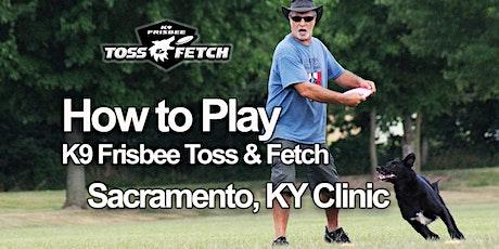 Dog Frisbee Clinic to Learn K9 Frisbee Toss & Fetch tickets