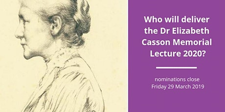 LIVE STREAM: Elizabeth Casson Memorial Lecture 2020 - Lincoln tickets