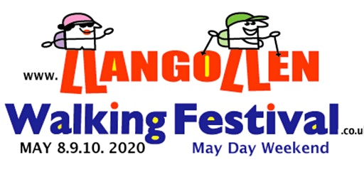 Llangollen Walking Festival Train Ride & Walk 8 miles Saturday MAY 9, 2020