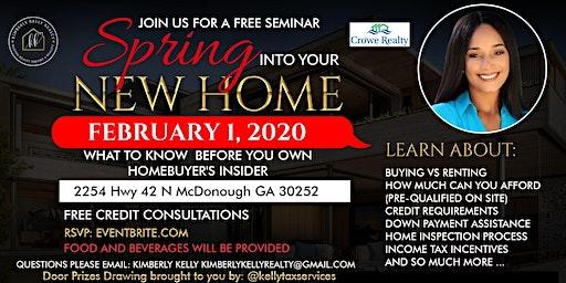 Free Home Buying Seminar - South Atlanta