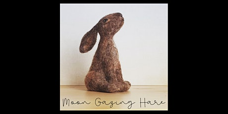 Needle Felting Workshop with Little Felted Dreams, Moon Gazing Hare tickets