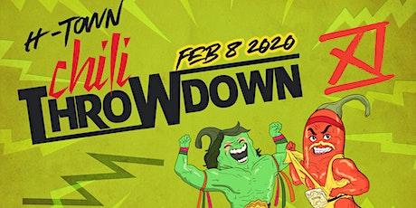 11th Annual H-Town Chili Throwdown 2020 Team Registration tickets