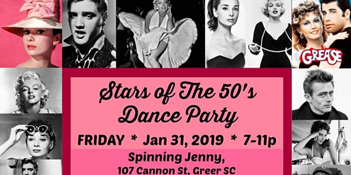 Stars of the 50's Dance Party