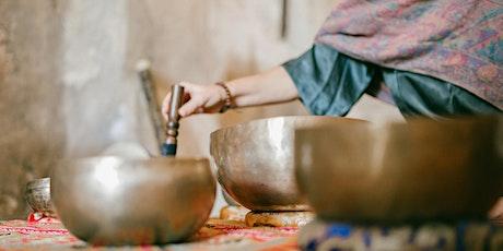 Concierto de cuencos tibetanos y cena con encanto entradas