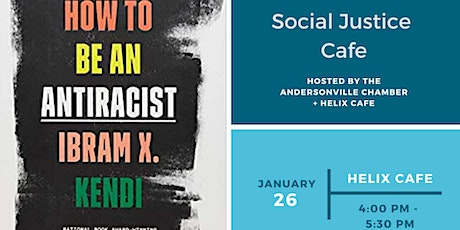 Social Justice Cafe: How to be an Anti-Racist Book Club tickets