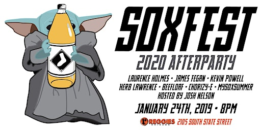 2020 SoxFest After Party hosted by From the 108 & Sox Machine