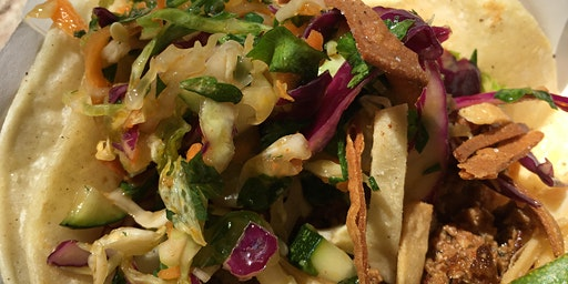 School Lunch on the Farm: Crispy Mexican Street Tacos