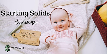 Starting Solids with Baby at Treehaus Teahause  tickets