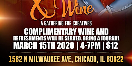 WritHers and Wine: Sip & Spit tickets