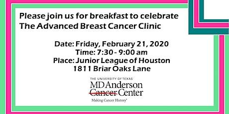 MDACC Advanced Breast Cancer Program Breakfast tickets