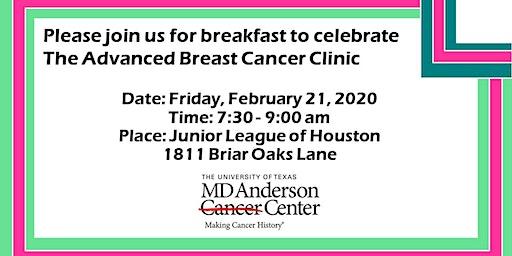 MDACC Advanced Breast Cancer Program Breakfast