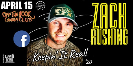 Comedian Zach Rushing Live In Naples, FL Off The Hook Comedy Club tickets