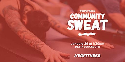 YEG Fitness Community Sweat - METTA YOGA