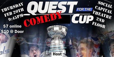 Quest for The (comedy) Cup tickets