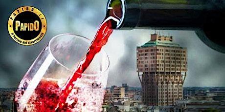 Aperitivo con Open Wine in Torre Velasca a Milano - ✆ 3332434799 tickets