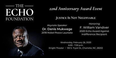 The Echo Foundation 22nd Anniversary Award Event tickets