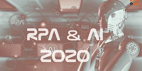Congresso Nazionale sulla Robotic Process Automation & AI (RPA & AI 2020) tickets