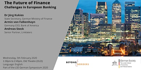 The Future of Finance - Challenges in European Banking tickets