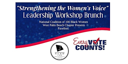 "Leadership Workshop  ""Strengthening the Women's Vote"""