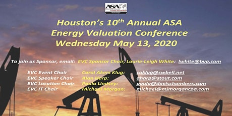 2020 ENERGY VALUATION CONFERENCE tickets