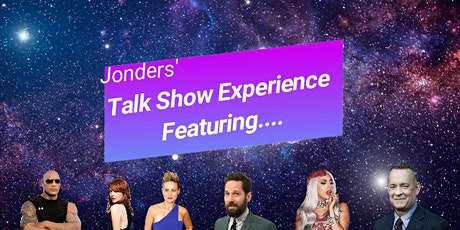 Jonders' Talk Show Experience Featuring... tickets