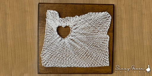 Oregon String Art + Drinks and Appetizers
