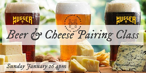 Beer & Cheese Pairing (4pm class)