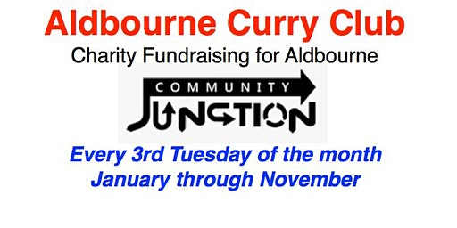 Aldbourne Curry Club 2020 - January through November